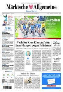 Märkische Allgemeine Dosse Kurier - 01. Juni 2018