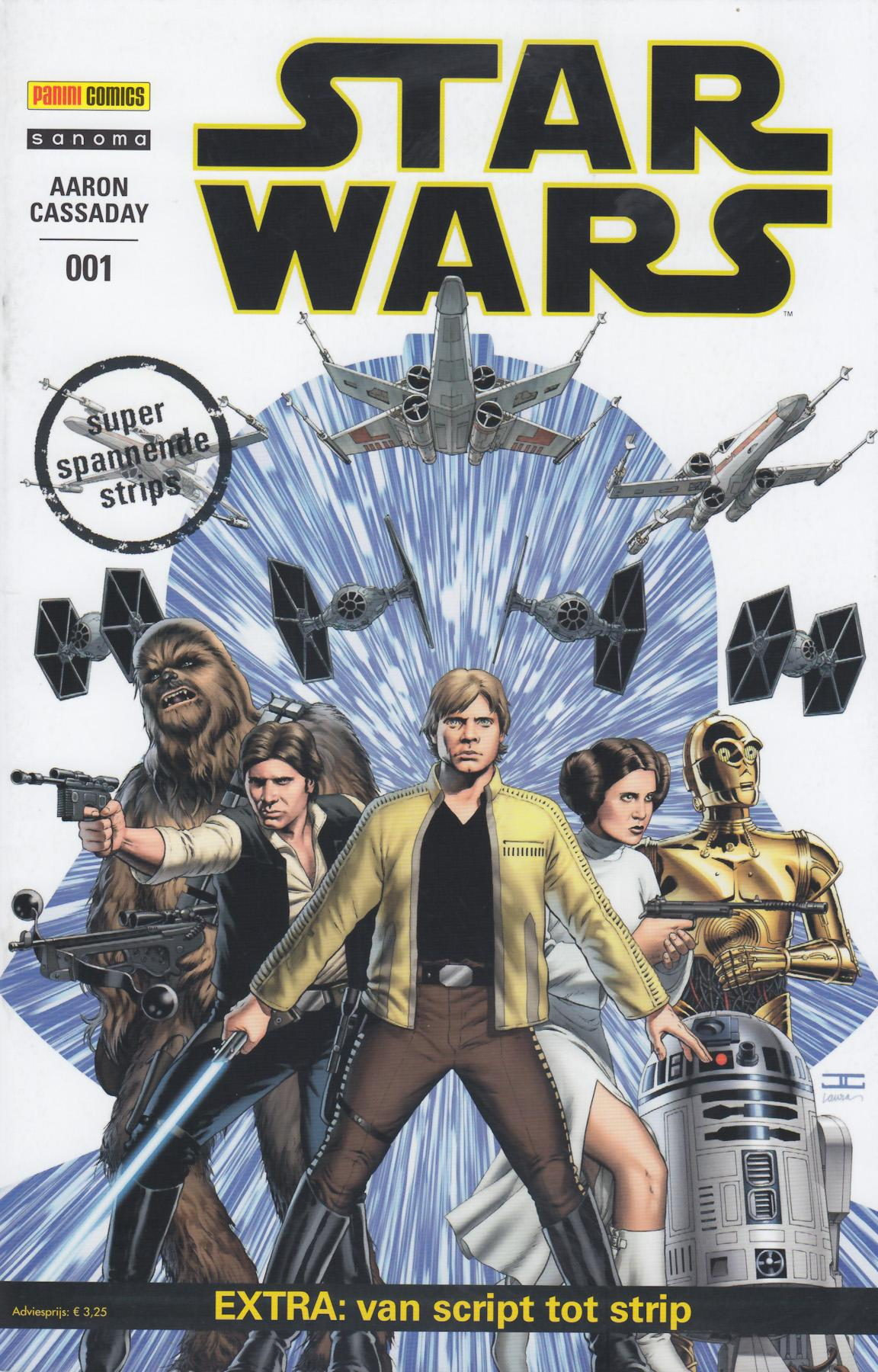Star Wars (Panini) - 01 - Skywalker Valt Aan
