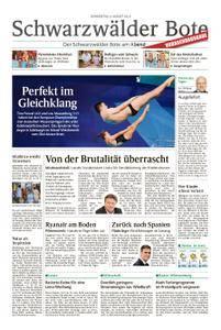Schwarzwälder Bote Hechingen - 09. August 2018