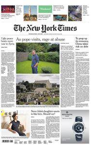International New York Times - 25 August 2018