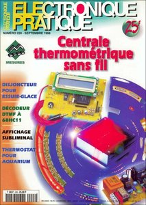 Electronique Pratique №228. Septembre 1998