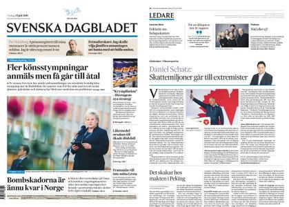 Svenska Dagbladet – 23 juli 2019