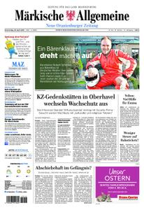 Neue Oranienburger Zeitung - 18. April 2019