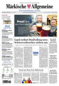 Neue Oranienburger Zeitung - 05. Oktober 2017