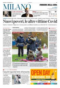 Corriere della Sera Milano – 15 novembre 2020