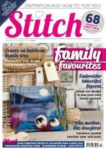 Stitch Magazine - December 2017 - January 2018