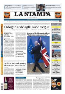 La Stampa Torino Provincia e Canavese - 18 Ottobre 2019