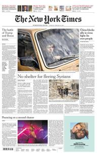 International New York Times - 20 February 2020