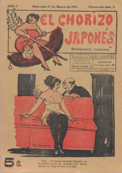 El chorizo Japonés. Semanario inocente #2