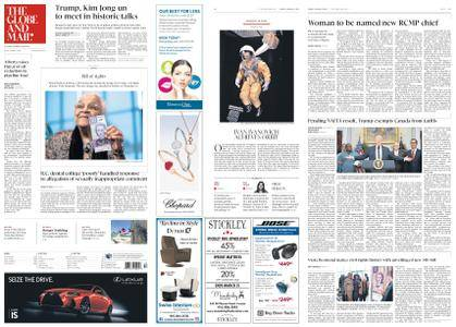 The Globe and Mail – March 09, 2018