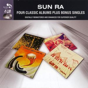 Sun Ra - Four Classic Albums Plus Bonus Singles (2012) [4CDs] {Real Gone Jazz}