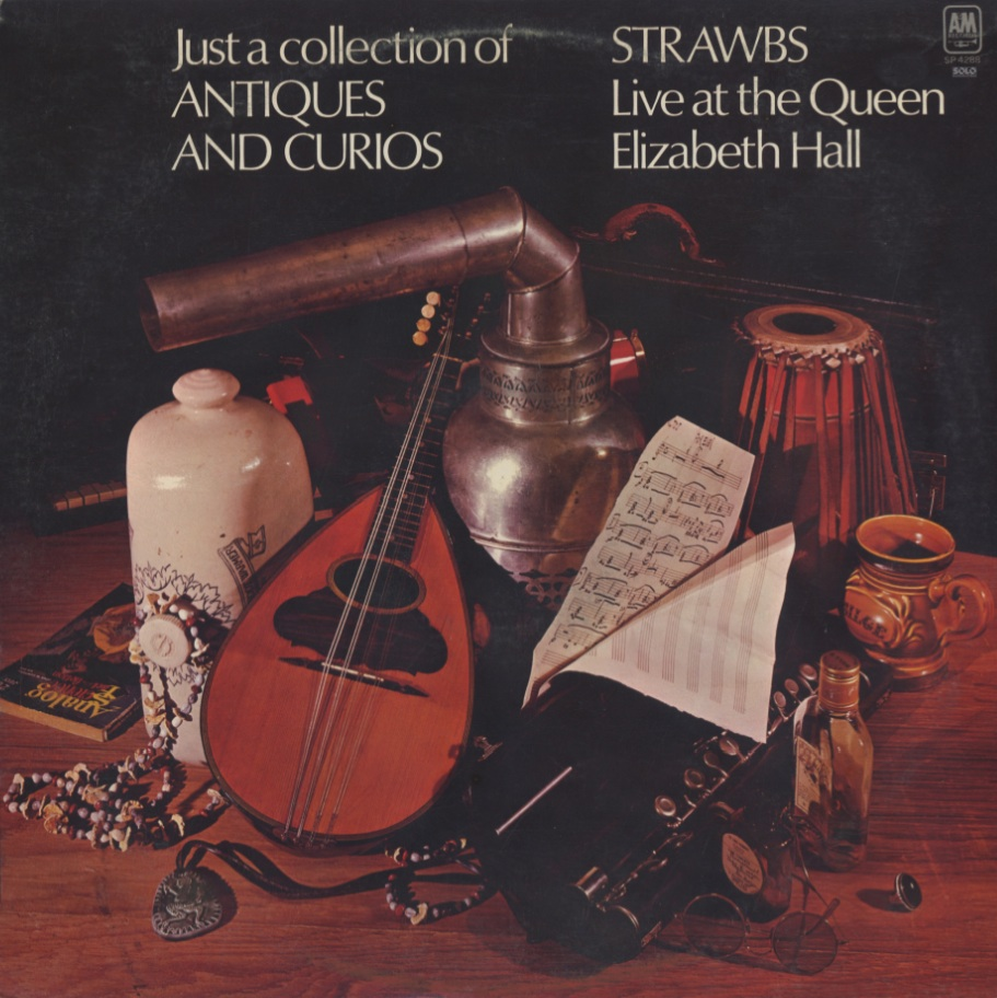 Strawbs ‎- Just A Collection Of Antiques And Curios (1970) A&M Records - US Promo 1st Pressing - LP/FLAC In 24bit/96kHz