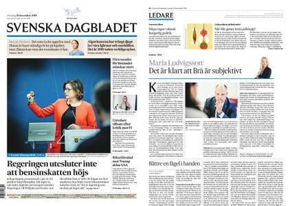 Svenska Dagbladet – 18 december 2019