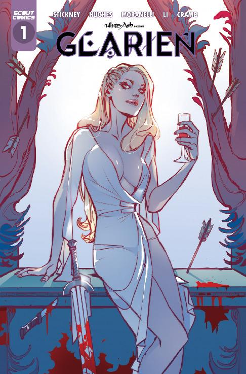 Scout Comics-White Ash Presents Glarien 2021 Hybrid Comic eBook