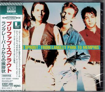 Prefab Sprout - From Langley Park To Memphis (1988) {2013, Blu-Spec CD2, Remastered, Japan}