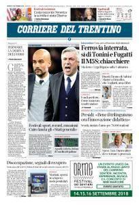 Corriere del Trentino – 13 settembre 2018
