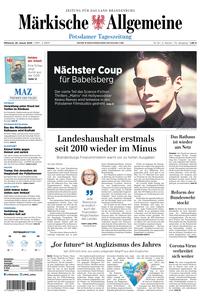 Märkische Allgemeine – 29 Januar 2020