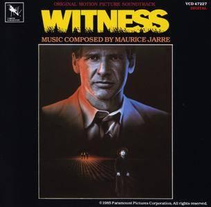 Maurice Jarre - Witness: Original Motion Picture Soundtrack (1985) Reissue 1990