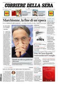 Corriere della Sera - 22 Luglio 2018