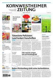 Kornwestheimer Zeitung - 09. Oktober 2017
