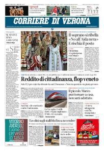 Corriere di Verona – 27 luglio 2019