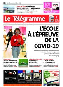 Le Télégramme Brest Abers Iroise – 15 septembre 2020