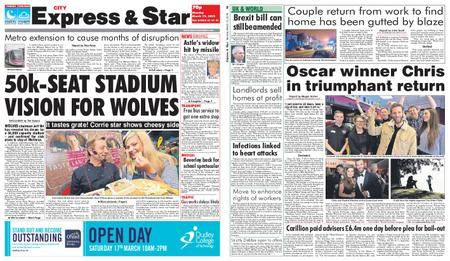 Express and Star City Edition – March 12, 2018