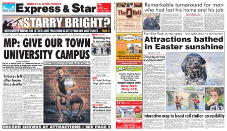 Express and Star Dudley and Wyre Forest Edition – April 23, 2019