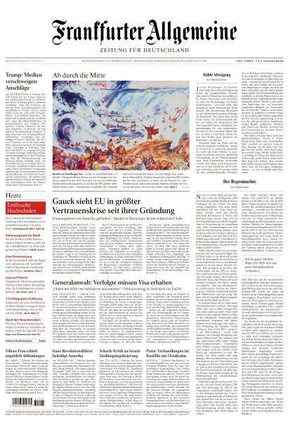 Frankfurter Allgemeine Zeitung - 8 Februar 2017