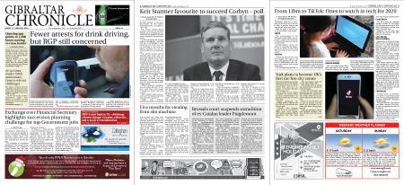 Gibraltar Chronicle – 03 January 2020