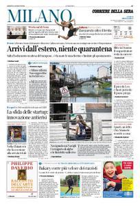 Corriere della Sera Milano – 15 agosto 2020