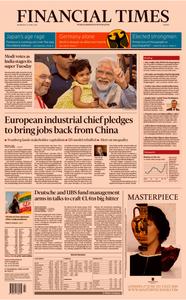 Financial Times Europe – 24 April 2019