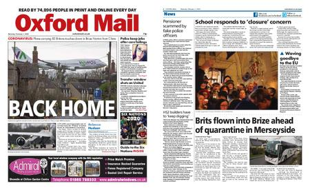 Oxford Mail – February 01, 2020