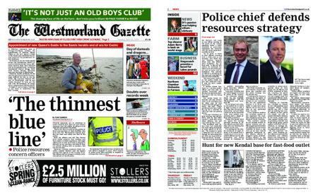 The Westmorland Gazette – April 25, 2019