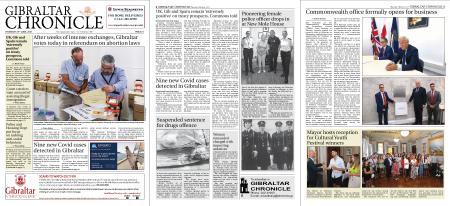 Gibraltar Chronicle – 24 June 2021