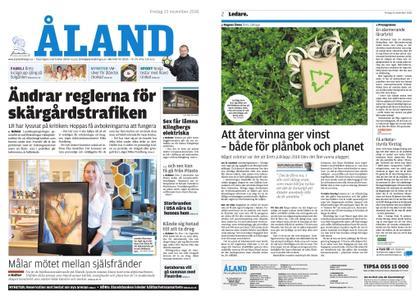 Ålandstidningen – 23 november 2018