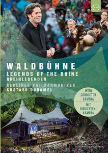 Gustavo Dudamel, Berliner Philharmoniker - Waldbuhne 2017: Legends of the Rhine [Blu-Ray]