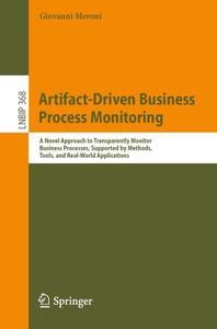 Artifact-Driven Business Process Monitoring