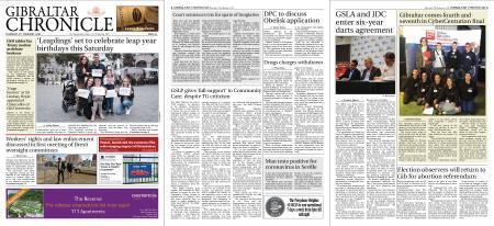 Gibraltar Chronicle – 27 February 2020