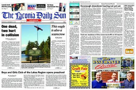 The Laconia Daily Sun – September 19, 2018