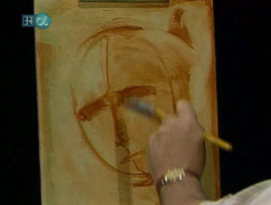 Bob Ross - The Joy of Painting - Contemplative Lady (Video Painting Tutorial)