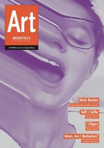 Art Monthly - November 2013   No 371