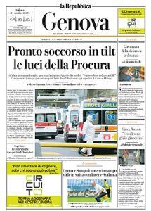 la Repubblica Genova - 24 Ottobre 2020