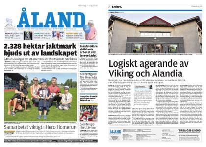 Ålandstidningen – 21 maj 2018