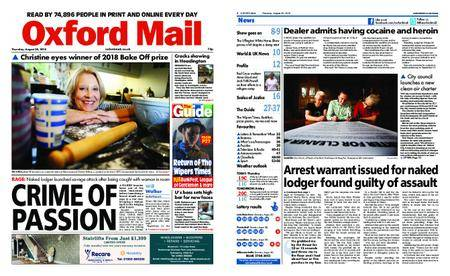Oxford Mail – August 30, 2018