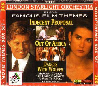 The London Starlight Orchestra - Plays Famous Film Themes (3CD) (1995) {Star Inc. Music} **[RE-UP]**