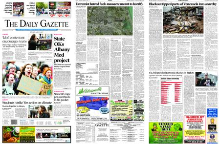 The Daily Gazette – March 16, 2019