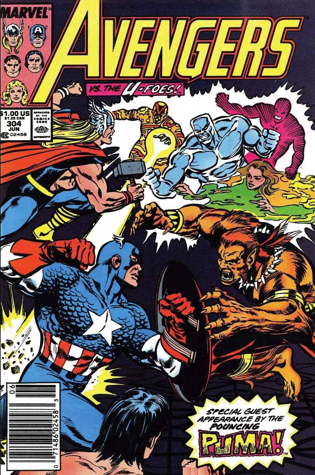For Whomever - Avengers V1 304 cbr