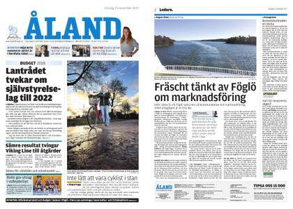 Ålandstidningen – 15 november 2017