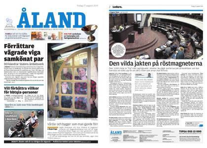 Ålandstidningen – 27 augusti 2019
